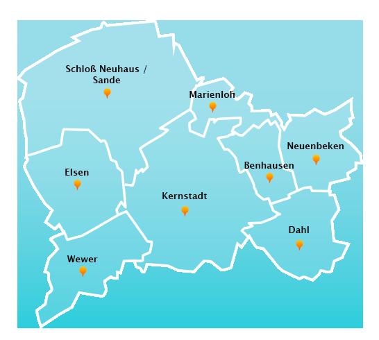 Touren Büroreinigung in Paderborn